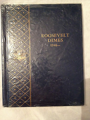 US Roosevelt Dime Collection 1946-   in Whitman Album - 50 Coins