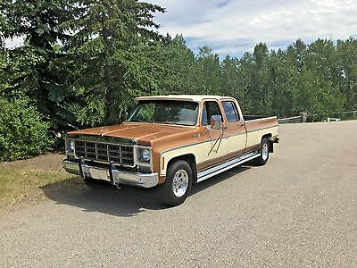 1979 Chevrolet Silverado 2500 Silverado 1979 Chevrolet Silverado Crewcab with only 58,410 miles!!!