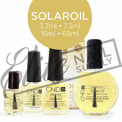 CND SolarOil Nail & Cuticle Conditioner - Choose from 3.7ml/7.3ml/15ml/68ml
