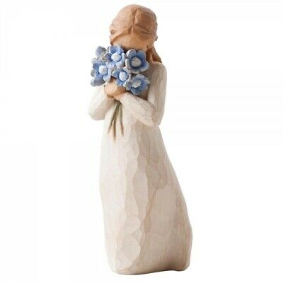 Willow Tree Figurine - Forget-Me-Not 26454 By Susan Lordi