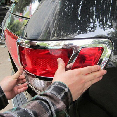 ABS Chrome Rear Tail Light Lamp Cover Trim Fit For Jeep Grand Cherokee 2012 2013