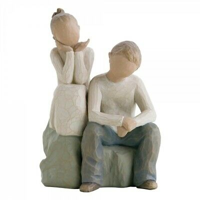 Willow Tree Figurine BROTHER AND SISTER 26187 New