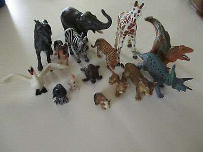 Lot Of Schleich Germany Animal Figures And More
