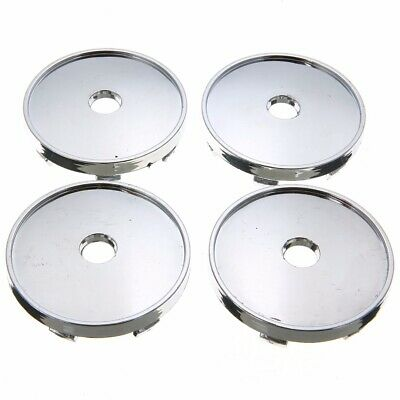 4pcs 60mm 56mm Silver Car Wheel Rim Center Hub Cap Emblem For Audi Honda VW BMW