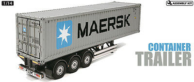 TAMIYA 56326 Container Trailer Maersk 40ft 3-Axle