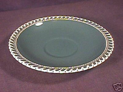 Harker Chesterton pattern Olive Green Saucer Only
