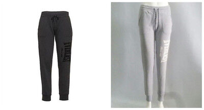 New Everlast Womens ACTIVE TRACKPANTS Gym Jogging Full Length Trousers Size 6-18