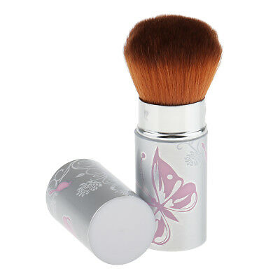 Cosmetic Makeup Retractable Soft Kabuki Face Powder Foundation Blush Brush