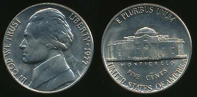 United States, 1977-P 5 Cents, Jefferson Nickel - Uncirculated
