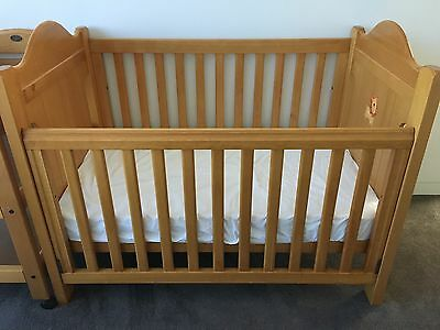 Cot Boori Country Collection - Includes Mattress.