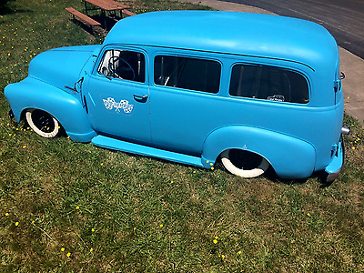 1951 Chevrolet Other  Air Ride 1951 Chevy 3100 Suburban Carryall Panel Bagged Rat Rod Hot Rod Air Ride