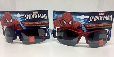 2 Pairs Of Marvel Spider-man Kids Sunglasses 100 Uv Protection