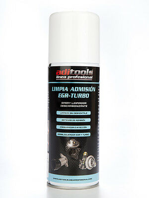 1X SPRAY 400ML limpia valvula egr admision turbo descarbonizador diesel gasolina