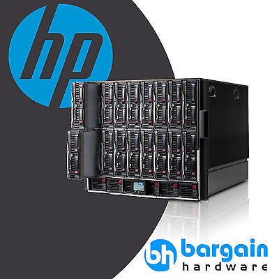 HP C7000 Enclosure 16x BL460C Blade servers, 1536GB RAM, 192x 2.66GHz Xeon Cores