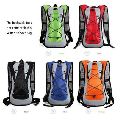 Hydration Pack Climbing Backpack Water Bladder Bag Outdoor Cycling Hiking 7129