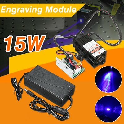 15W Laser Head Engraving Module Diode Metal Marking Wood Cutting For Engraver