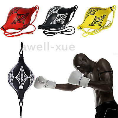 Double End MMA Boxing Training Gear Speed Ball Kich Floor Fitness Punching Bag