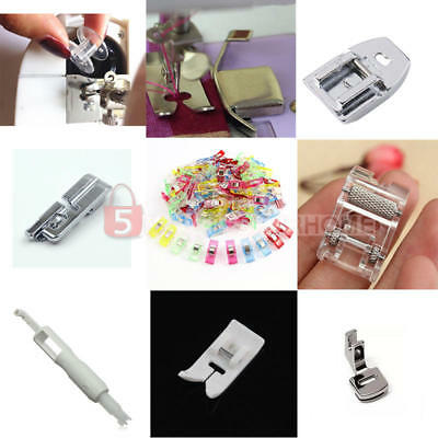 1pc Hot Press Presser Foot for Singer Brother Janome Sewing Machine Accessories