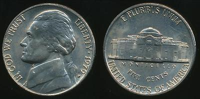 United States, 1979-D 5 Cents, Jefferson Nickel - Uncirculated