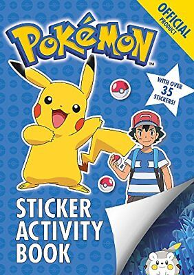 The Official Pokemon Sticker Activity Book by Pokemon (Paperback, 2017)