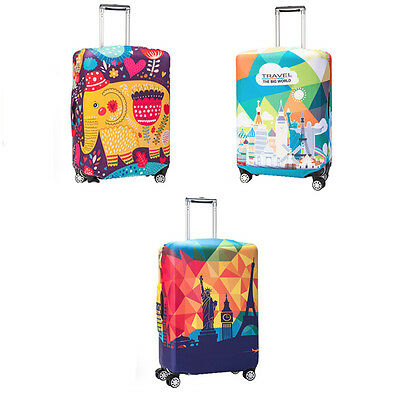 """Dustproof Super Elastic Travel Luggage Cover Trolley Suitcase Protector 18""""-32"""""""