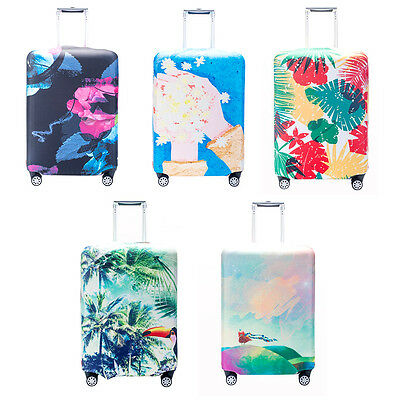 """Travel Luggage Cover Dustproof Super Elastic Suitcase Protector 20/22/24/28/32"""""""