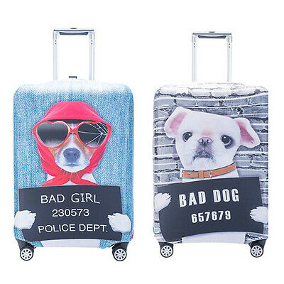 """Dustproof Travel Trolley Suitcase Protector Super Elastic Luggage Cover 18""""-32"""""""