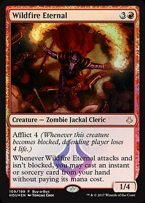 Eterno dell'Incendio Indomabile - Wildfire Eternal mtg PROMO FOIL ita BuyBox HOU