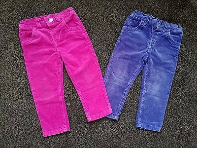 Bundle of girls trousers-size 18-24 months