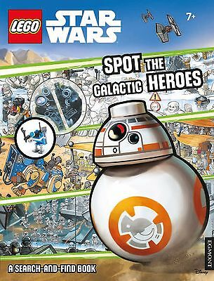 LEGO Star Wars: Spot the Galactic Heroes a Search-and-Find Book by Egmont...