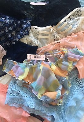 Victoria's Secret Panties Lot Of 100 Plus  NWT Current ALL HIGH END!