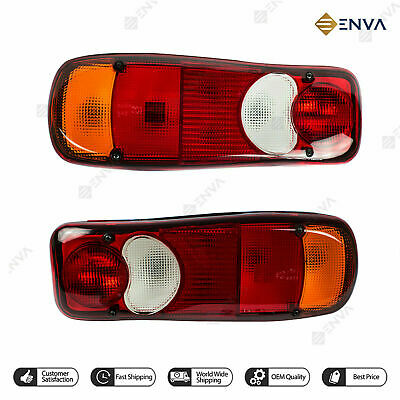 *Pair of Daf LF55 Rear Tail Light Eclipse Teardrop Lens LH /& RH BP90-105 X 2