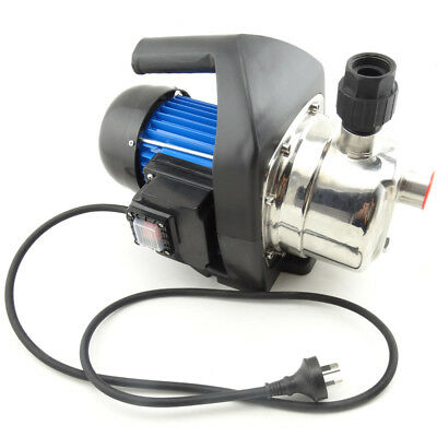 1200W High Pressure Stage Jet Water Pump Garden House Tank Rain Pond Irrigation