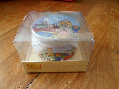 Lovely Childrens Ceramic Old Macdonalds Trinket Box***bnib***new******gift?