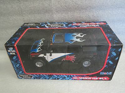 Mobile 2003 Hummer H2 Suv-Special Edition-Die Cast Metal