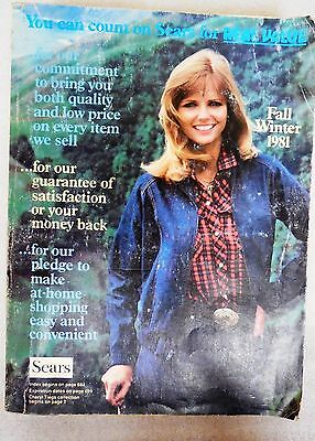 Sears Fashion Catalog 1981 Fall and Winter