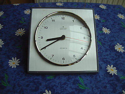 Junghans electronic Ato-Mat-S Germany Wand-Uhr
