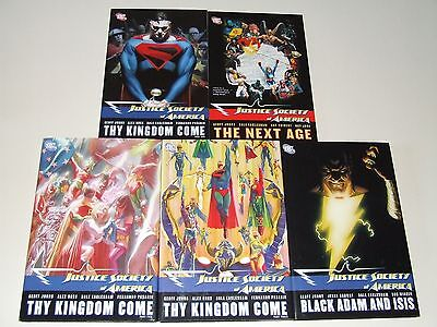 Justice Society of America - The Next Age, Thy Kingdom Come, Black Adam and Isis