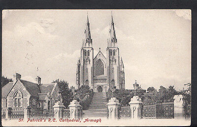 Northern Ireland Postcard - St Patrick's Roman Catholic Cathedral, Armagh RS4087