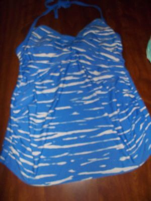 New Maternity Tankini Swimwear Top Liz Lange Size XL
