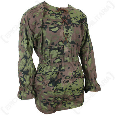 Oakleaf M42 Camouflage Smock - WW2 Repro German Jacket Top Army Soldier Uniform