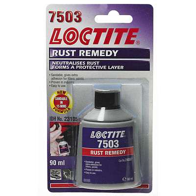 Loctite Rust Remedy 90ml SF7503 - Neutralises Rust Forms a Protective Layer