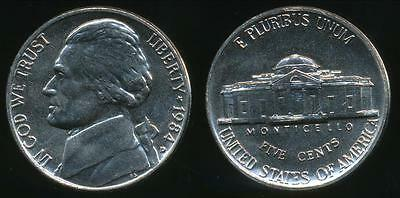 United States, 1984-D 5 Cents, Jefferson Nickel - almost Uncirculated