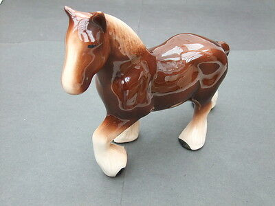 Shire Horse - 8in high Porcelain
