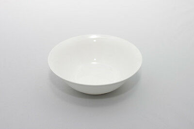 "White bone china cereal bowl soup bowl SET OF 4 cereal bowls bowls 18cm 7"" dish"
