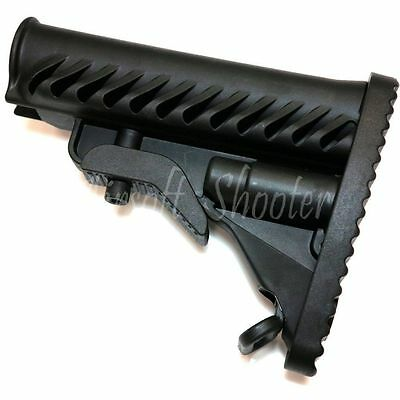 Airsoft APS PER QMTS M4 Complete Upper /& Lower Metal Body for V2 M-Series Black