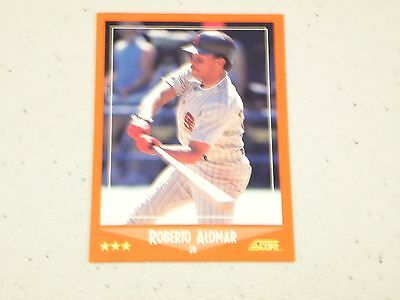 1988 Score Traded Roberto Alomar San Diego Padres Rookie Card 105t