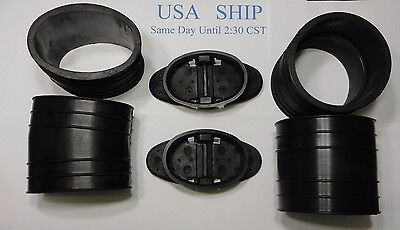 1982-96 Exhaust Y-pipe Kit 807166A3 Hose Bellows 32-14358T 32-44348T Mercruiser