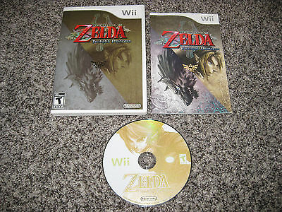 The Legend of Zelda: Twilight Princess (Nintendo Wii) COMPLETE GREAT CONDITION!