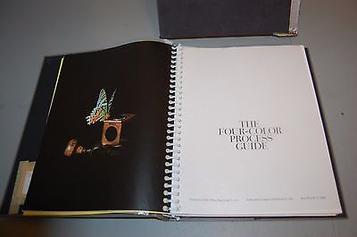 Vintage Four Color Process Guide Book 1960 Collier Photo Engraving